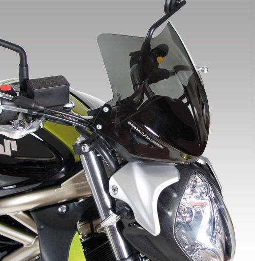 Barracuda Windschild Aerosport Plexiglas für Suzuki SFV650 Gladius 2009-2015