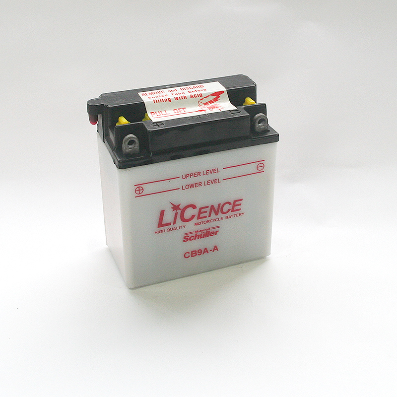 LICENCE Batterie YB9A-A