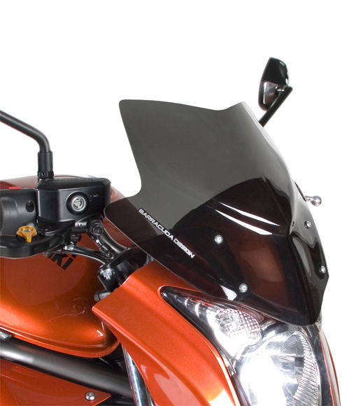 Barracuda Windschild Aerosport Plexiglas für Kawasaki Er6-N 2009 - 2011