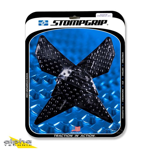 Stompgrip schwarz, Volcano, für  MV Agusta Rivale/ Stradale 800