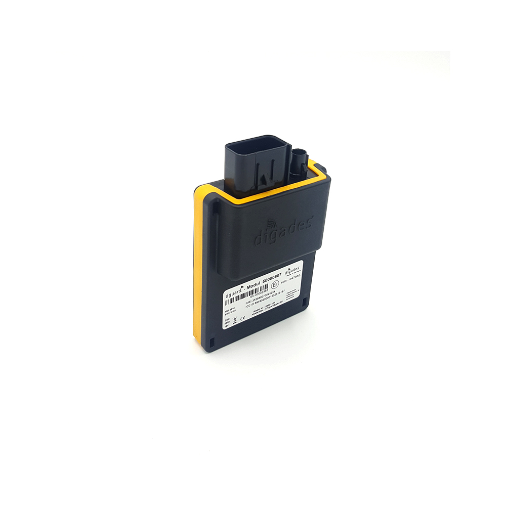 dguard automatisches eCall Motorrad-Notrufsystem inkl. Diebstahlschutz, GPS Tracking, Tourentagebuch