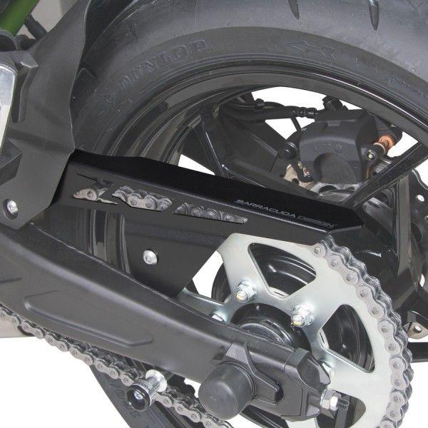 Barracuda Motorrad Kettenschutz Kawasaki Z650 / Ninja 650 2017- schwarz