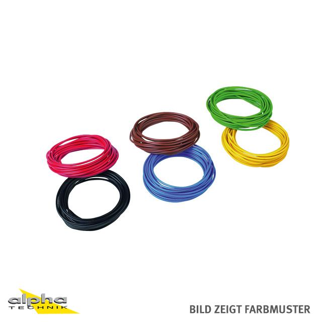 KR2-GE  Elektrokabel gelb, 0,75 mm²