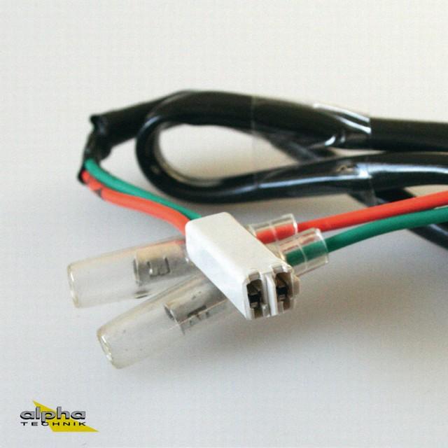 Adapterkabel von LED-Miniblinker auf Kabelbaum für Honda und Kawasaki