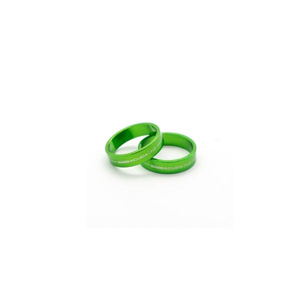 Barracuda universeller Einlegering für Lenkerendenspiegel grün