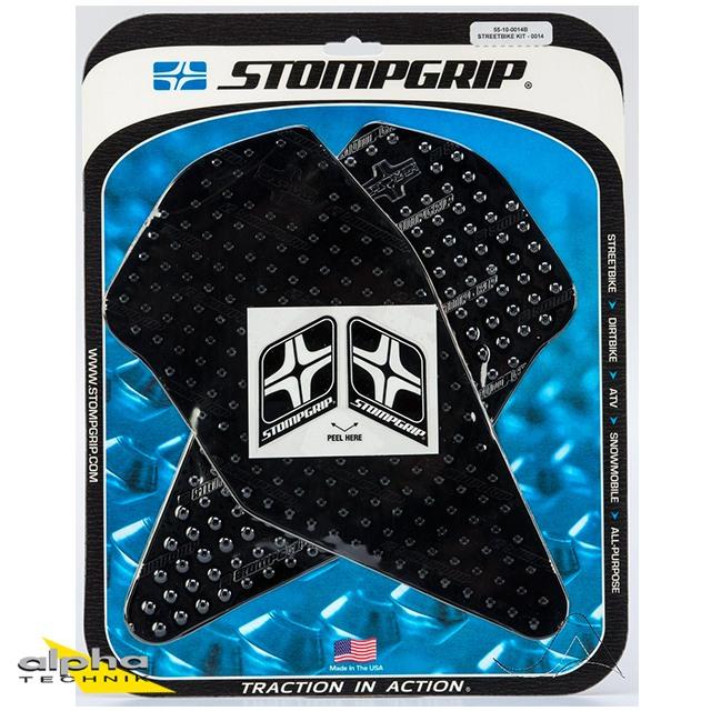 Stompgrip (Rahmen) schwarz, Volcano, für Buell XB alle Modelle