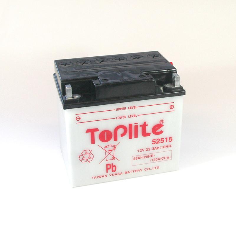 ToPlite YUASA Batterie 52515