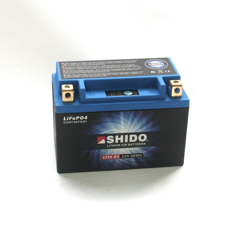 SHIDO Lithium-Batterie LTX9-BS-Li