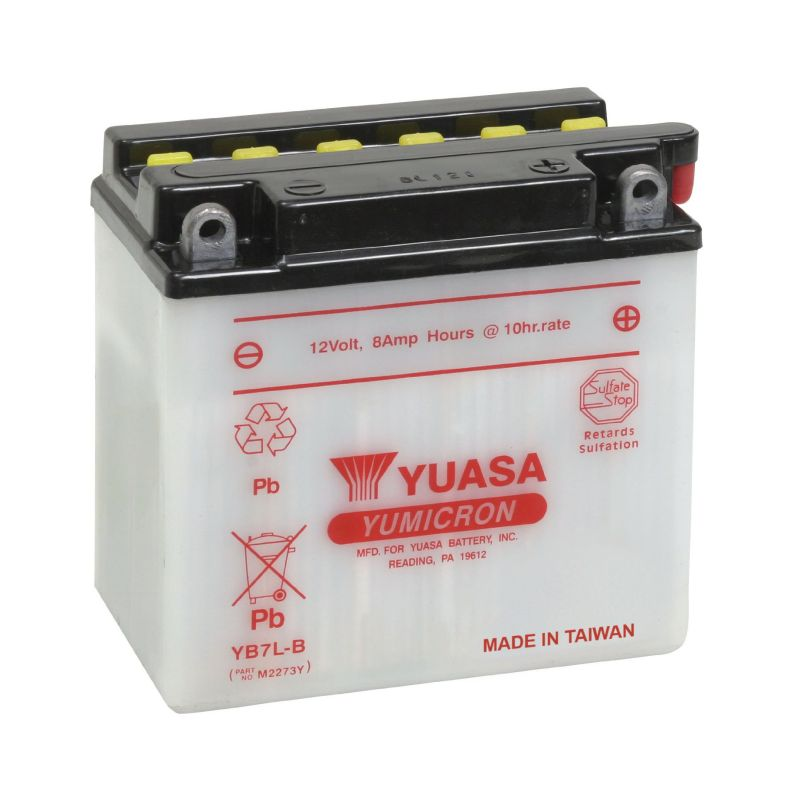 ToPlite YUASA Batterie YB7L-B