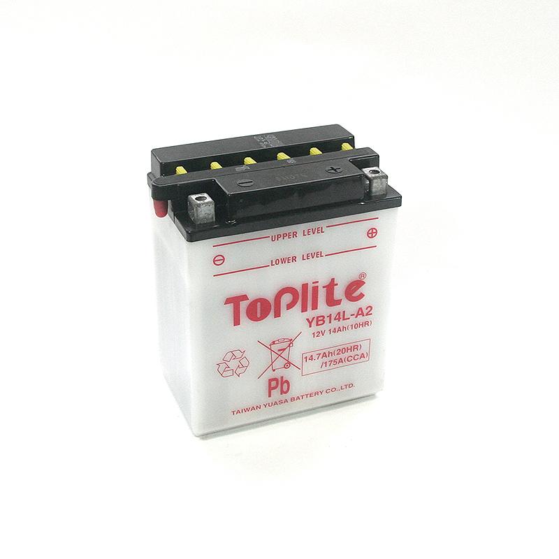 ToPlite YUASA Batterie YB14L-A2