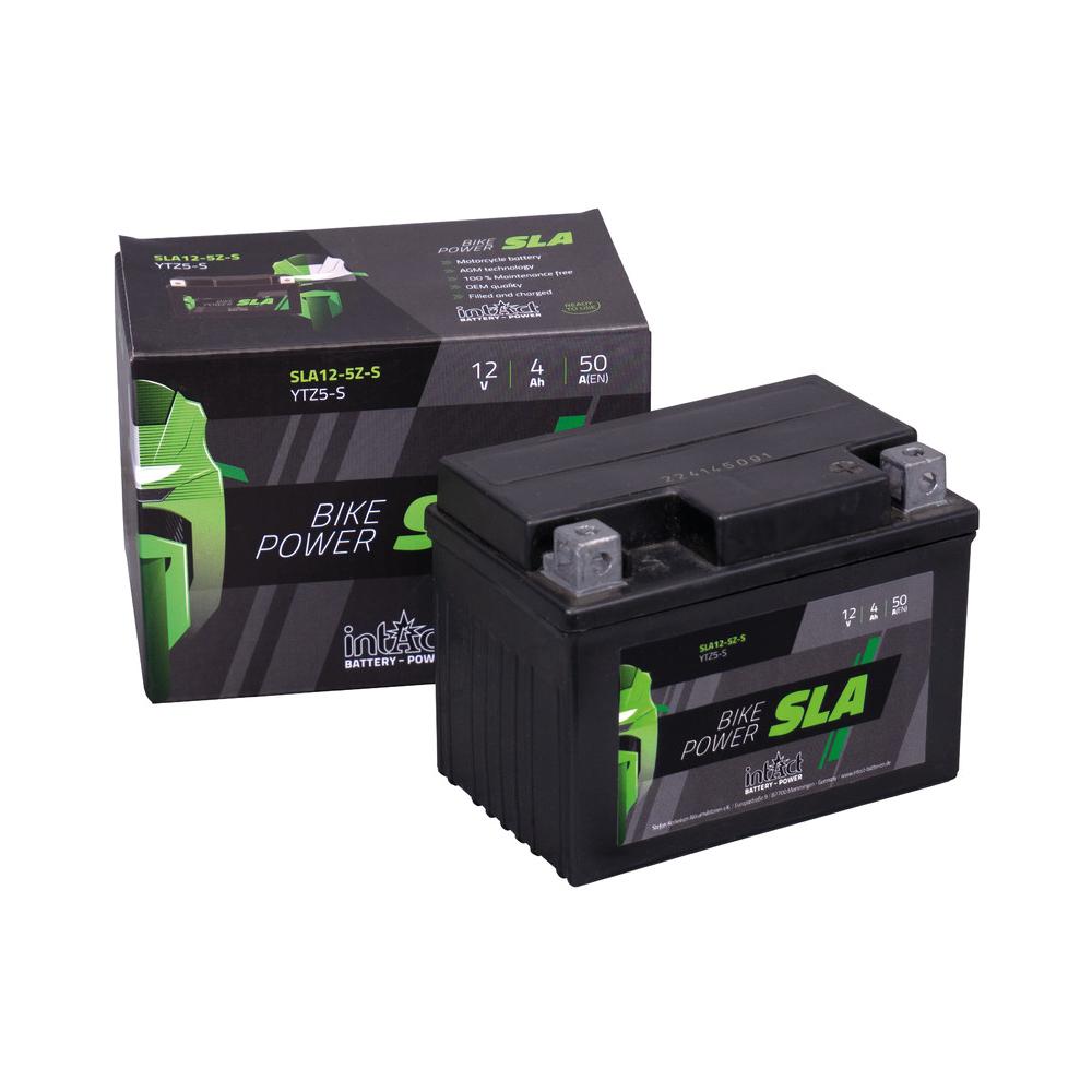 Intact verschlossene AGM Batterie YTZ5-S