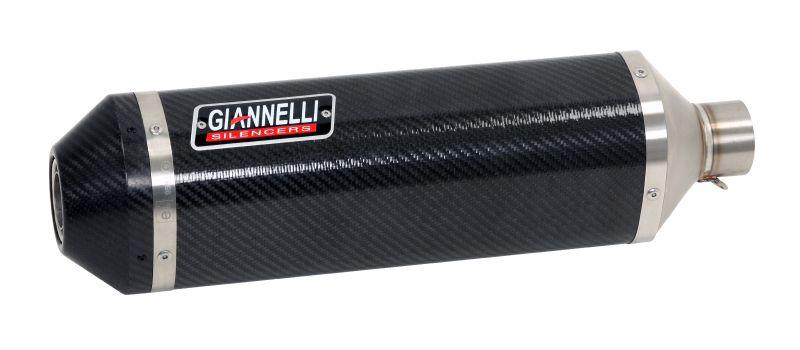 GIANNELLI Komplettanlage IPERSPORT für Honda CB650F / CBR650F, 2014-16, ohne Katalysator