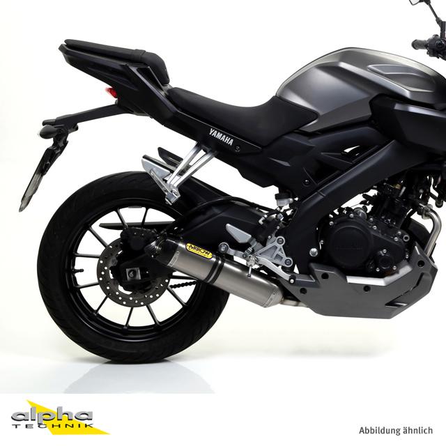 ARROW Thunder ESD Yamaha MT125 14- Titan