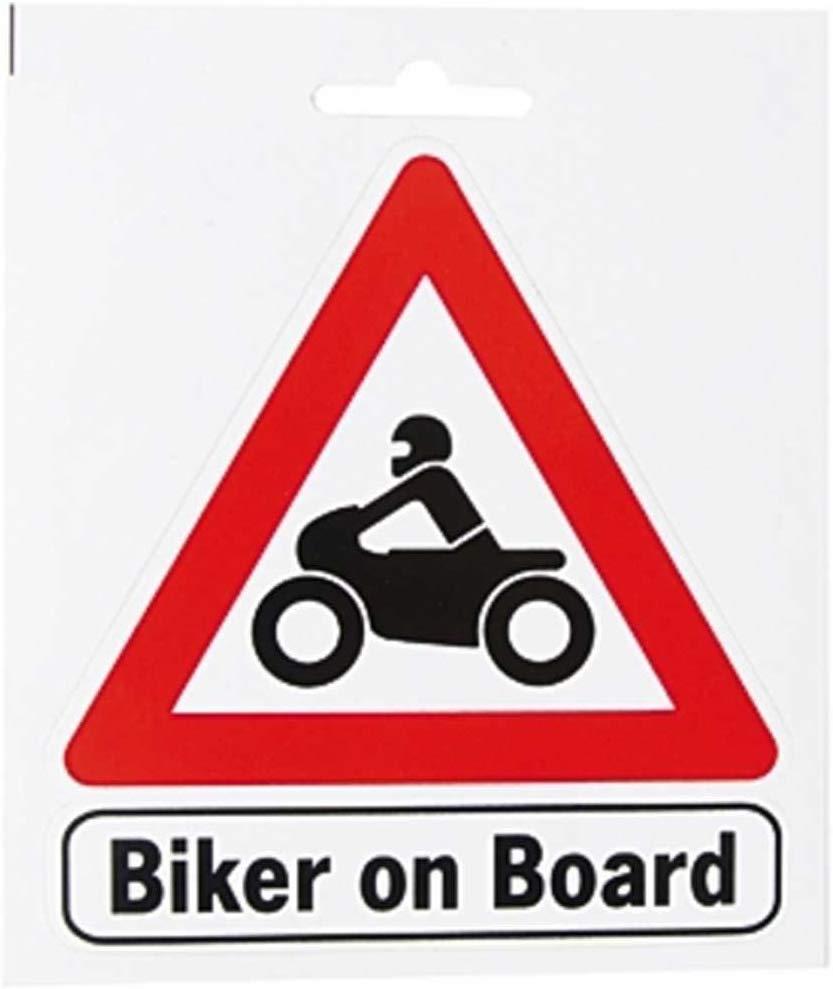 Biker on Board Aufkleber / Sticker