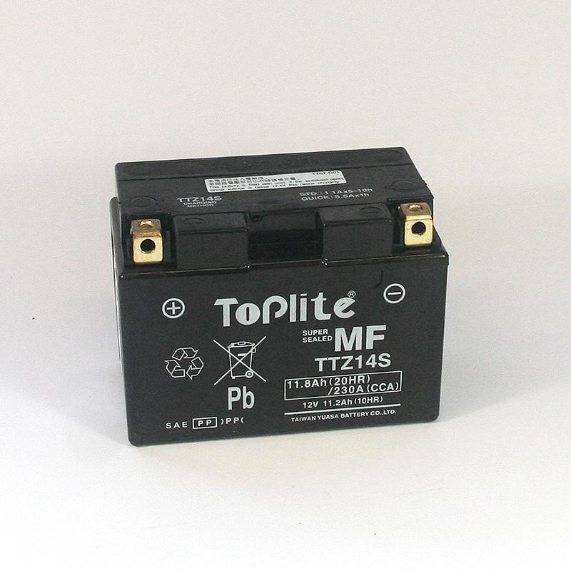 ToPlite YUASA Batterie YTZ14S