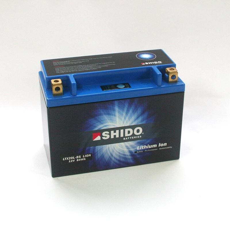 SHIDO Lithium-Batterie LTX20L-BS-Q-Li