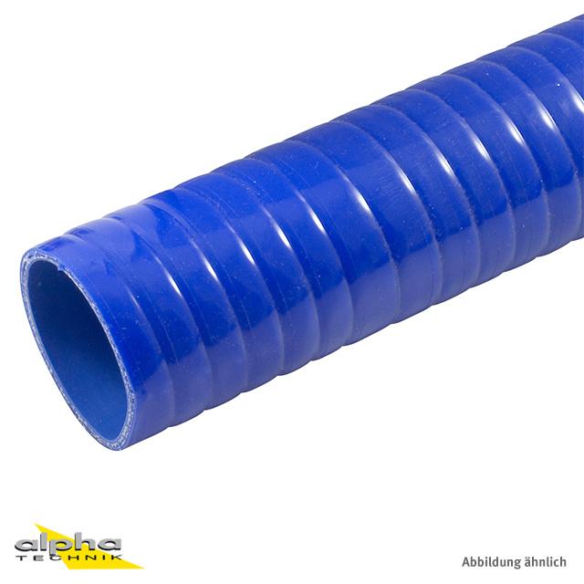 Siliconschlauch Superflex 11 mm blau