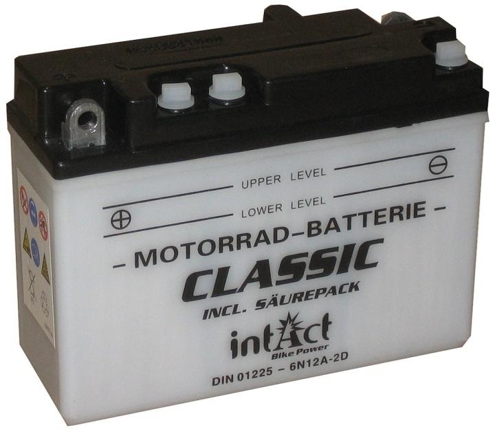 Intact Batterie  6N12A-2D / B54-6A