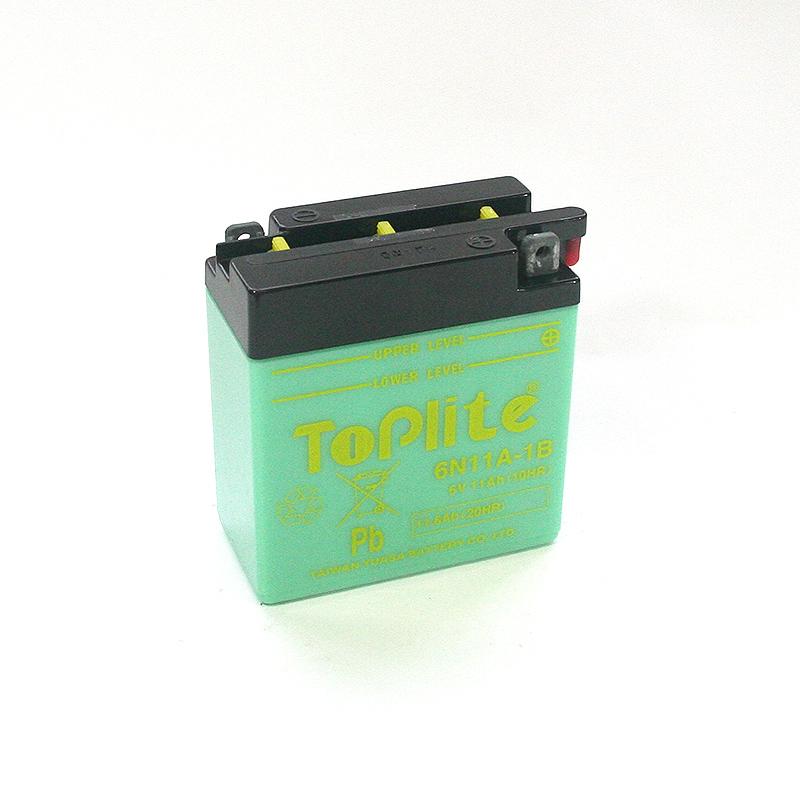 ToPlite YUASA Batterie 6N11A-1B