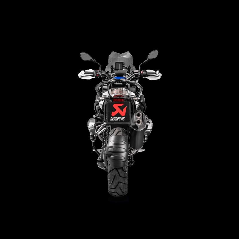 Akrapovic Austauschkrümmer (Titanium) für BMW R1250GS / R1250GS Adventure / R1250R / R1250RS / R1250RT Modelljahr 2019-