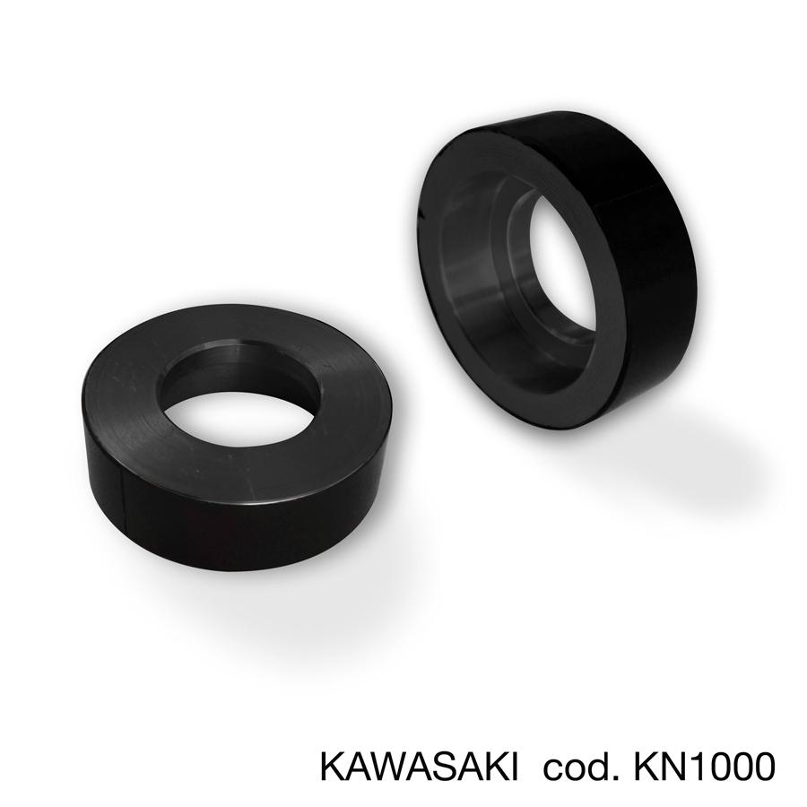 Barracuda Lenkerendenadapter für Hebelschutz und Lenkerendenspiegel für Kawasaki