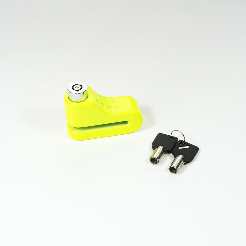Bremsscheiben-Schloss, Farbe: gelb