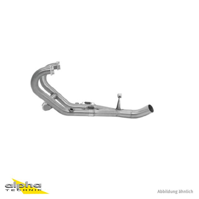 ARROW Racing-Krümmer für BMW R1200GS 2010-12 / R1200R 2011-14 / R1200GS Adventure 2010-12, ohne Katalysator