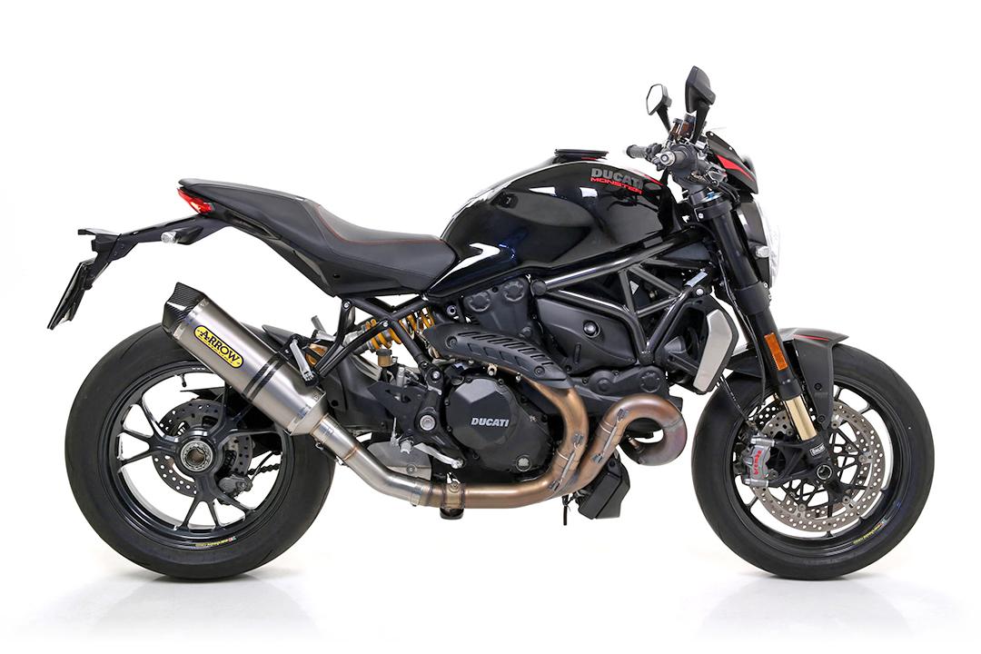ARROW Auspuff RACE TECH für Ducati Monster 1200 1200R 1200S 2016- aus Titan