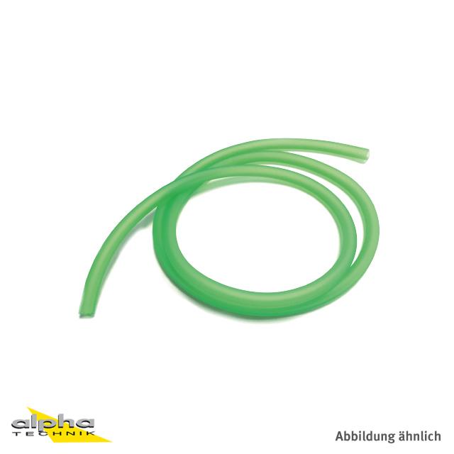 Benzinschlauch grün 10mtr, 4x7mm