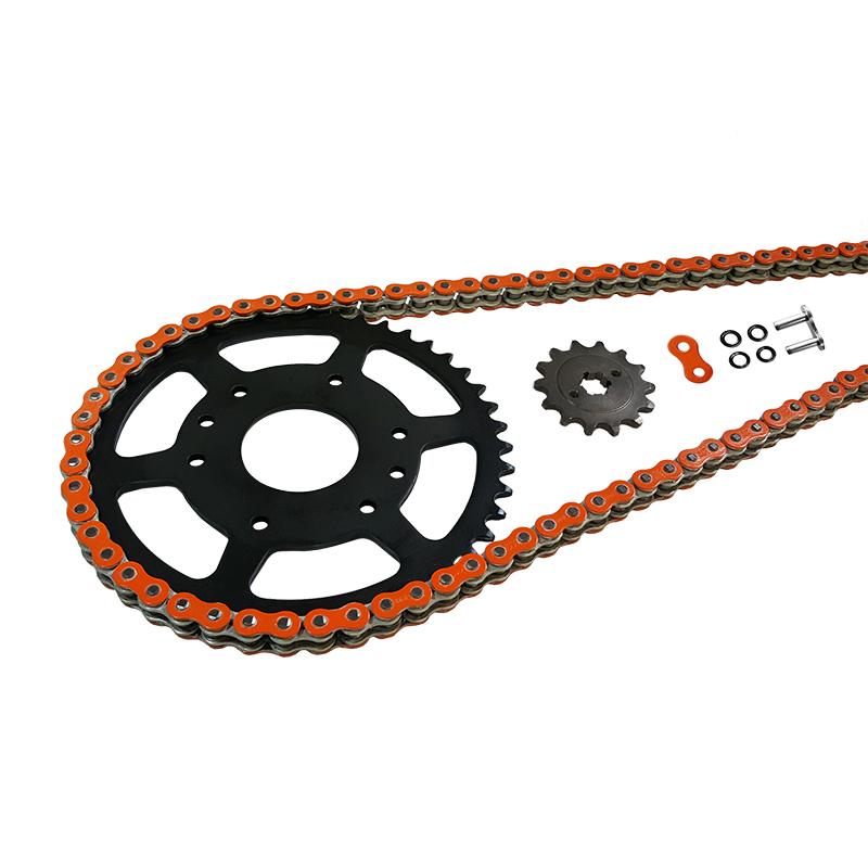 Kettensatz Teilung 520 MVXZ-2, Kette in orange