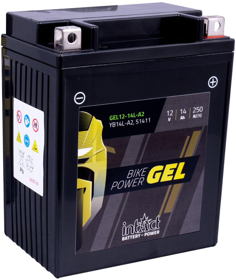 Intact GEL Batterie  YB14L-A2 / 51411
