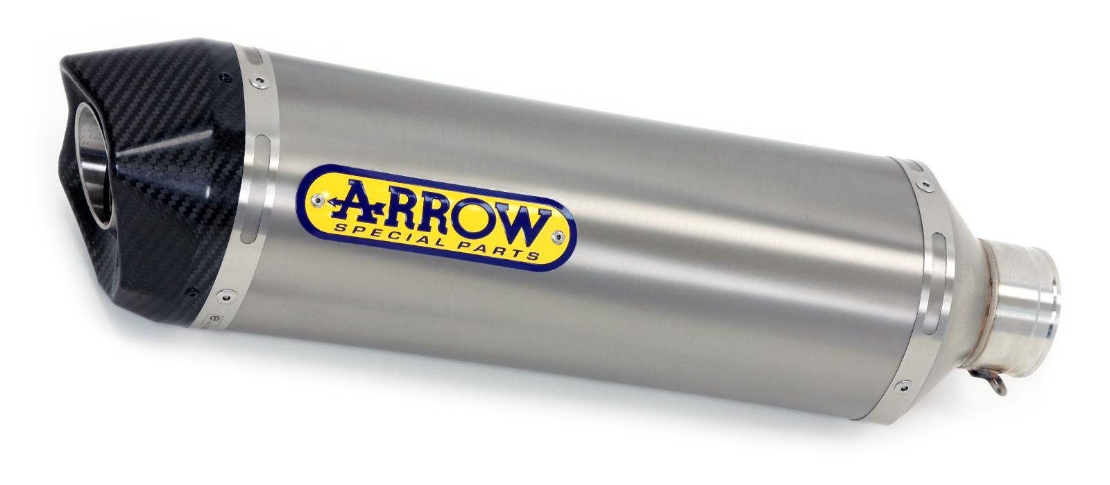 ARROW Auspuff RACE TECH für Suzuki GSX-R1000 2012-16 aus Titan