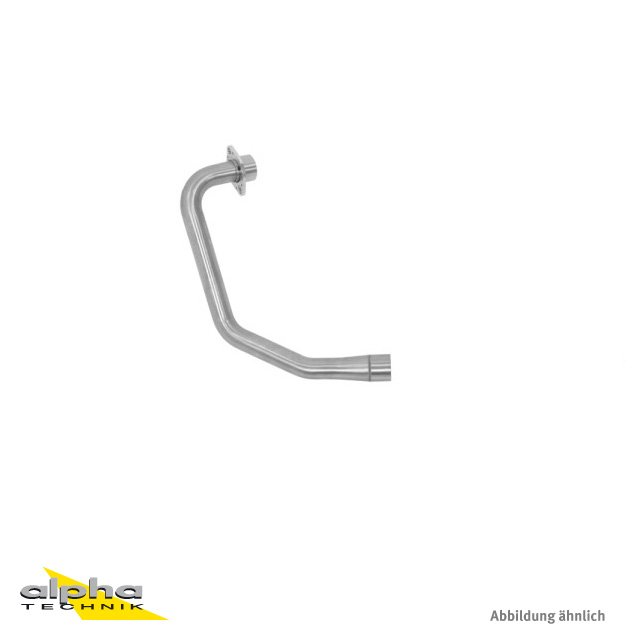 ARROW Racing-Krümmer für Honda CBR125R 2011-16, ohne Katalysator