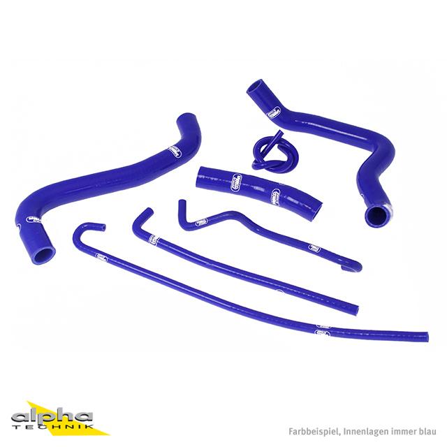 Siliconschlauch Kit blau für Suzuki GSXR1000, WVB6