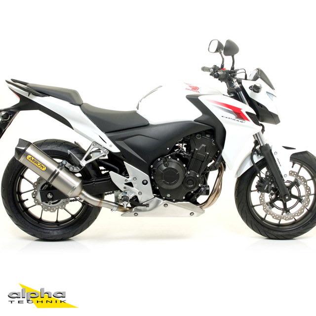 ARROW Auspuff RACE TECH für Honda CB500F / CBR500R / CB500X 2013- Titan