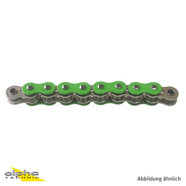Kette ENUMA MVXZ-2 530, ideale OEM-Ersatzkette - 96 Glieder - Farbe Grün