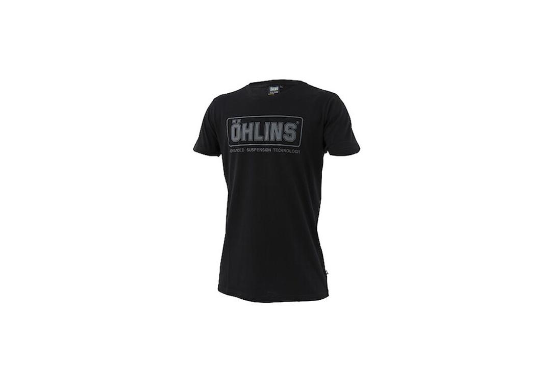 Öhlins Original T-Shirt schwarz Größe L
