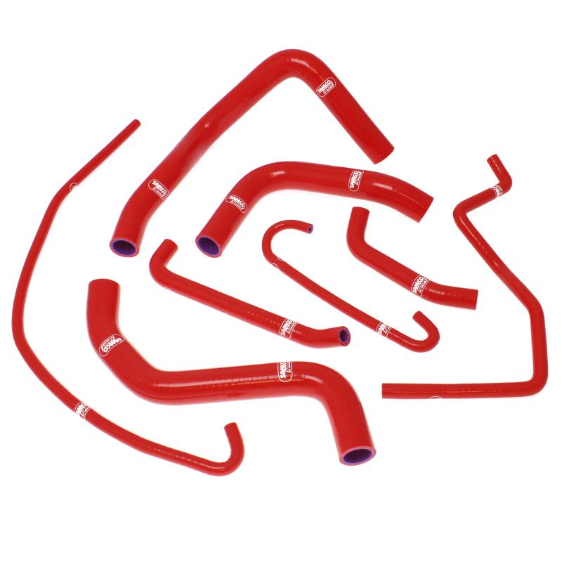 Siliconschlauch Kit rot Suzuki GSXR600, GSXR750