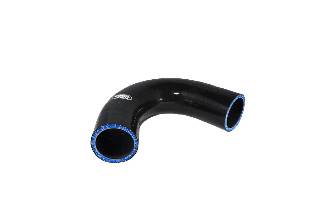 Siliconschlauch 90° Reduzierstück 51-45 mm schwarz