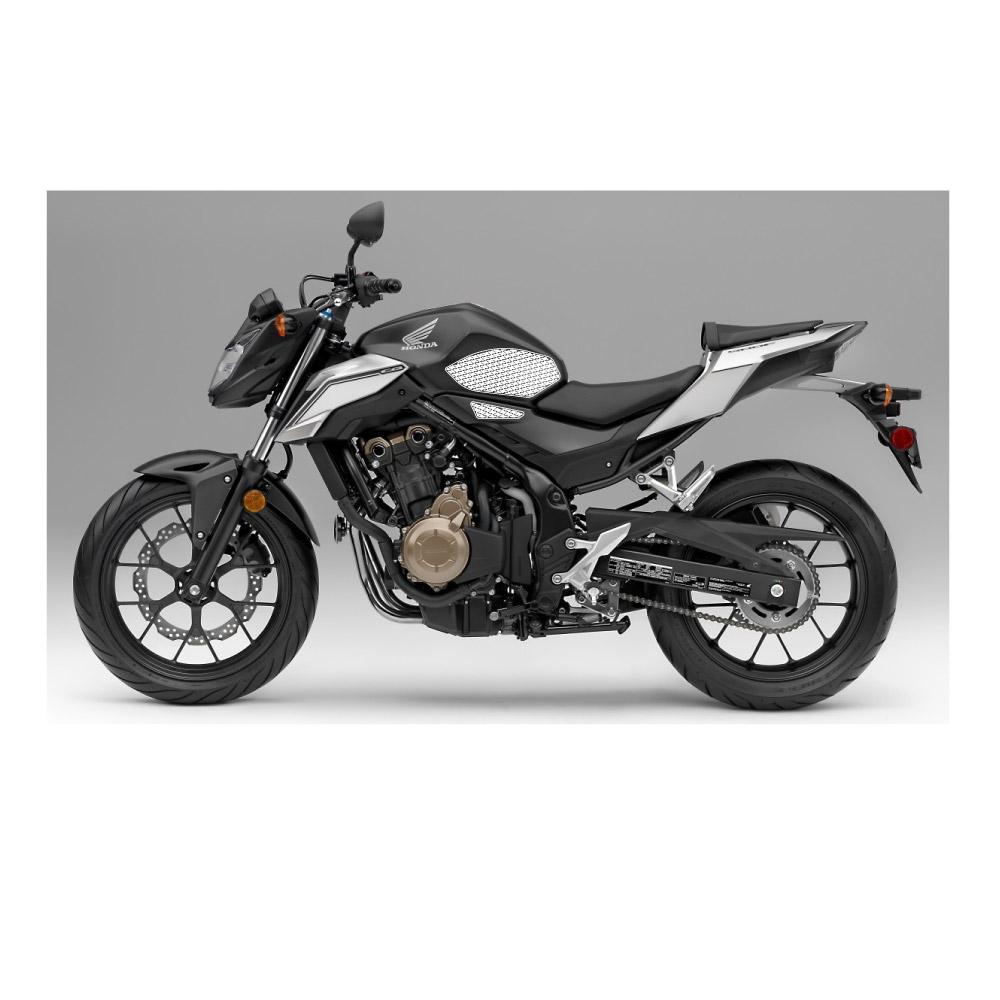 Stompgrip schwarz, Honda CBR500R / CB500F