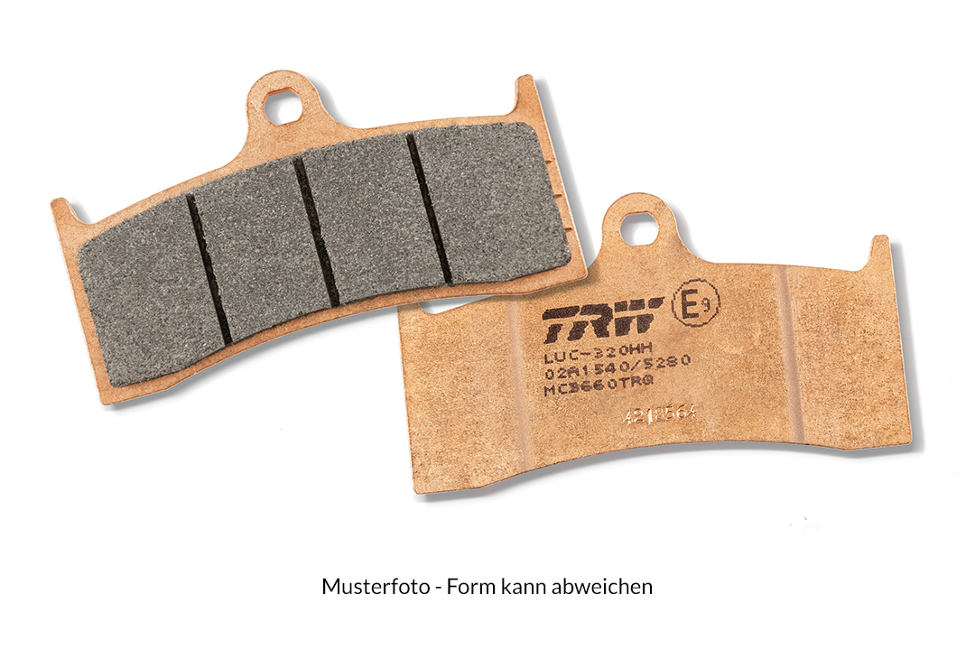 TRW LUCAS Bremsbelagsatz Track Racing Quality MCB656TRQ