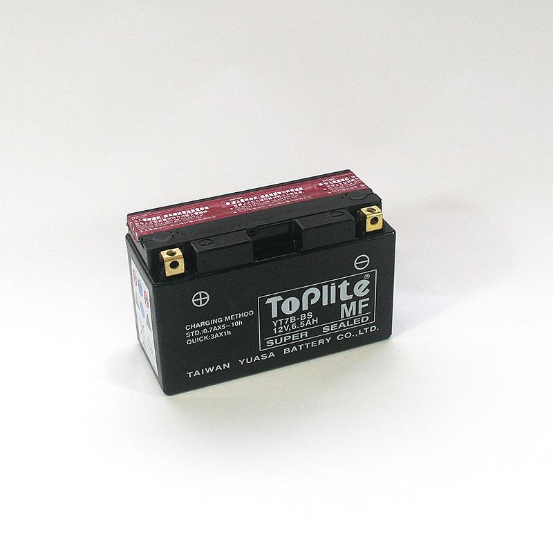 ToPlite YUASA Batterie YT7B-BS