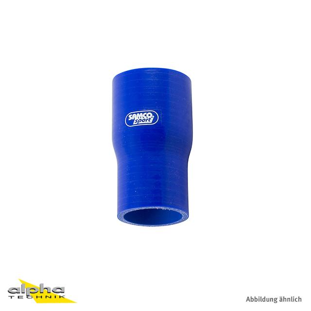 Siliconschlauch Standard Reduzierst. 54-51 blau