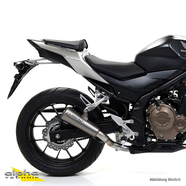ARROW Auspuff PRO-RACING für Honda CB500F / CBR500R 2013-2018, Titan