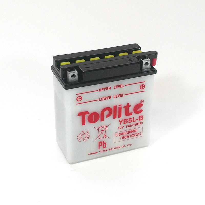 ToPlite YUASA Batterie YB5L-B