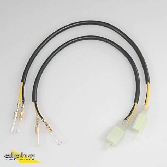 Adapterkabelsatz von LED-Miniblinker auf Fahrzeugkabelbaum für Yamaha YZF-R125 RE06