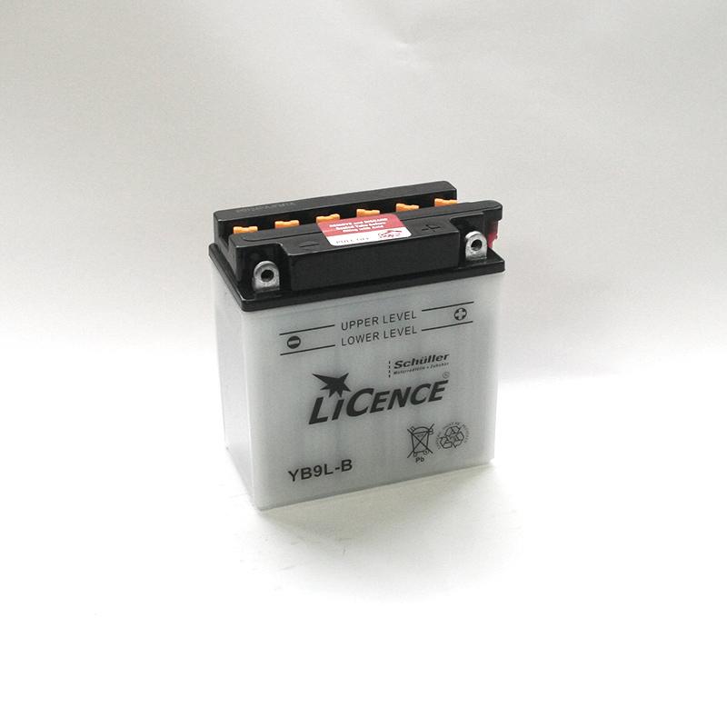 LICENCE Batterie YB9L-B