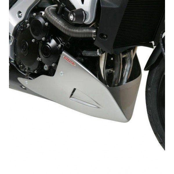 Barracuda Bugspoiler AEROSPORT für Suzuki GSR600 2006 - 2011 GSR750 2011 - 2016 silber lackiert