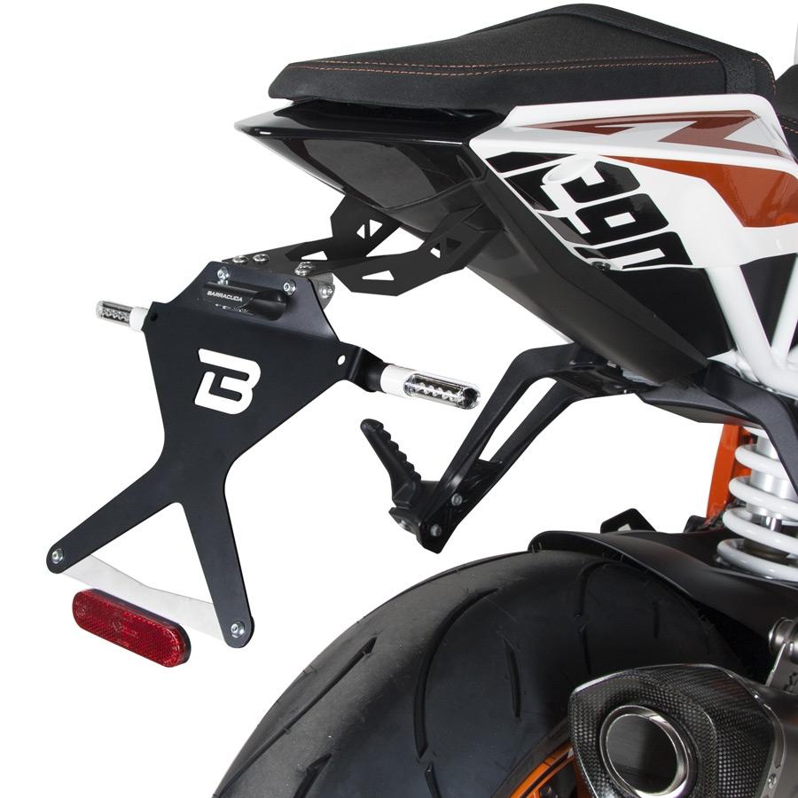 Barracuda Kennzeichenhalter für KTM Superduke 1290 2013-2018
