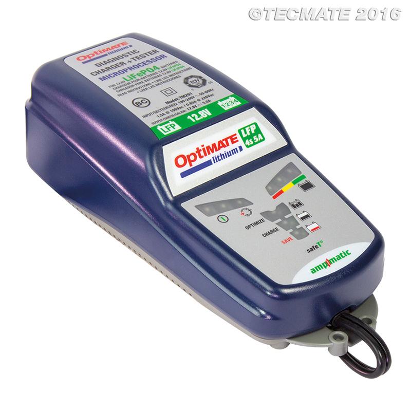 Ladegerät OPTIMATE Lithium 4s 5 Ampere
